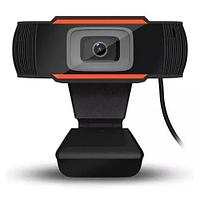 Web Камера HD 1080p для ПК c микрофоном. Для учебы, работы. Интернет веб USB