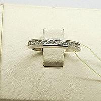 Кольцо с бриллиантом / 17,5 размер