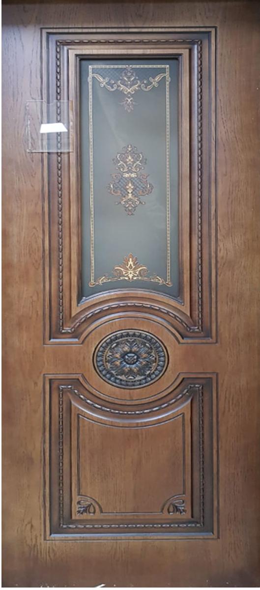 Межкомнатная шпонированная дверь СанРемо(орех)