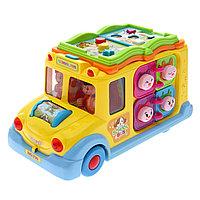 Игрушечный школьный автобус
