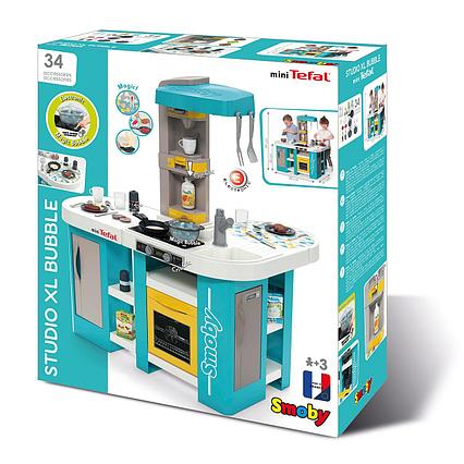 Детская кухня электронная Tefal Studio, пузырьки, 34 акс.,48х46,5х99 см, 1/1 Франция