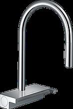 Aquno Select M81  Кухонный смеситель, однорычажный, 170, с вытяжным душем, 3jet