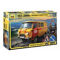 Сборная модель «УАЗ 3909 Аварийная газовая служба»