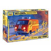 Сборная модель «УАЗ 3909 Пожарная служба»