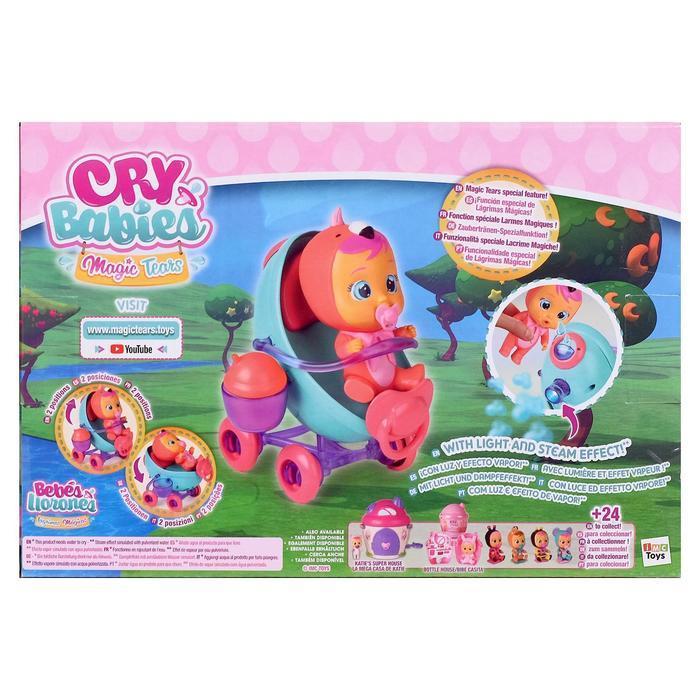Игровой набор: Плачущий младенец Фэнси с коляской и аксессуарами - фото 3