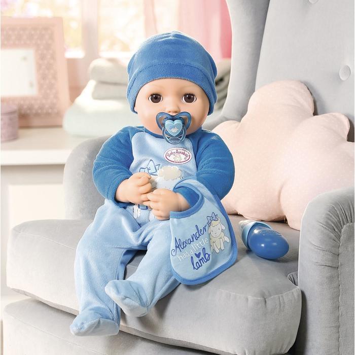 Кукла-мальчик Baby Annabell, 43 см, многофункциональная - фото 2
