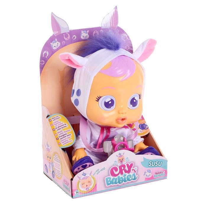 Кукла интерактивная «Плачущий младенец Susu», 31см - фото 1