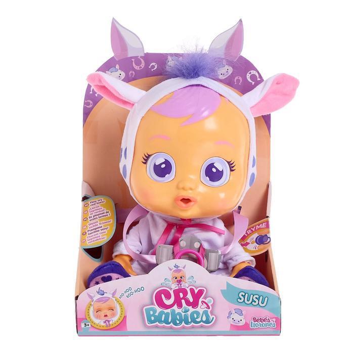 Кукла интерактивная «Плачущий младенец Susu», 31см - фото 2