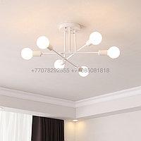 Modern White люстра белая на 6 ламп