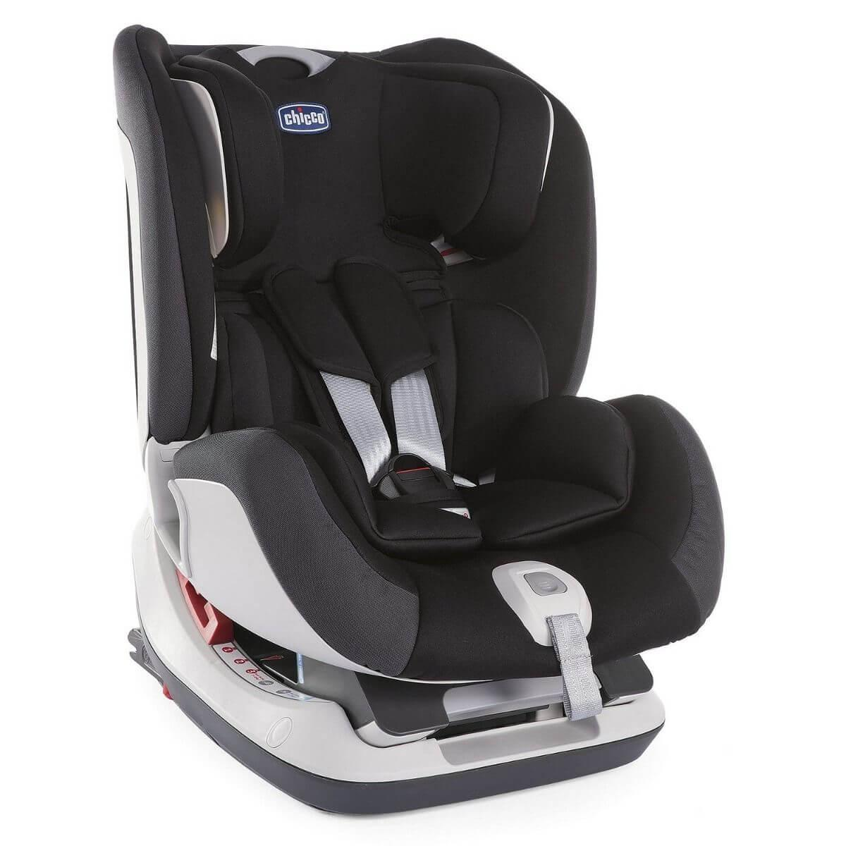 Chicco: Автокресло Seat Up 012 Jet Black (0-25 kg) 0+