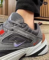 Кроссовки Nike m2k тем сер 1077-4