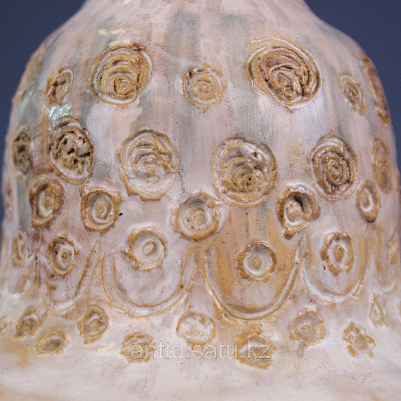 Скандинавская лампа с зеленым куполом. - фото 8