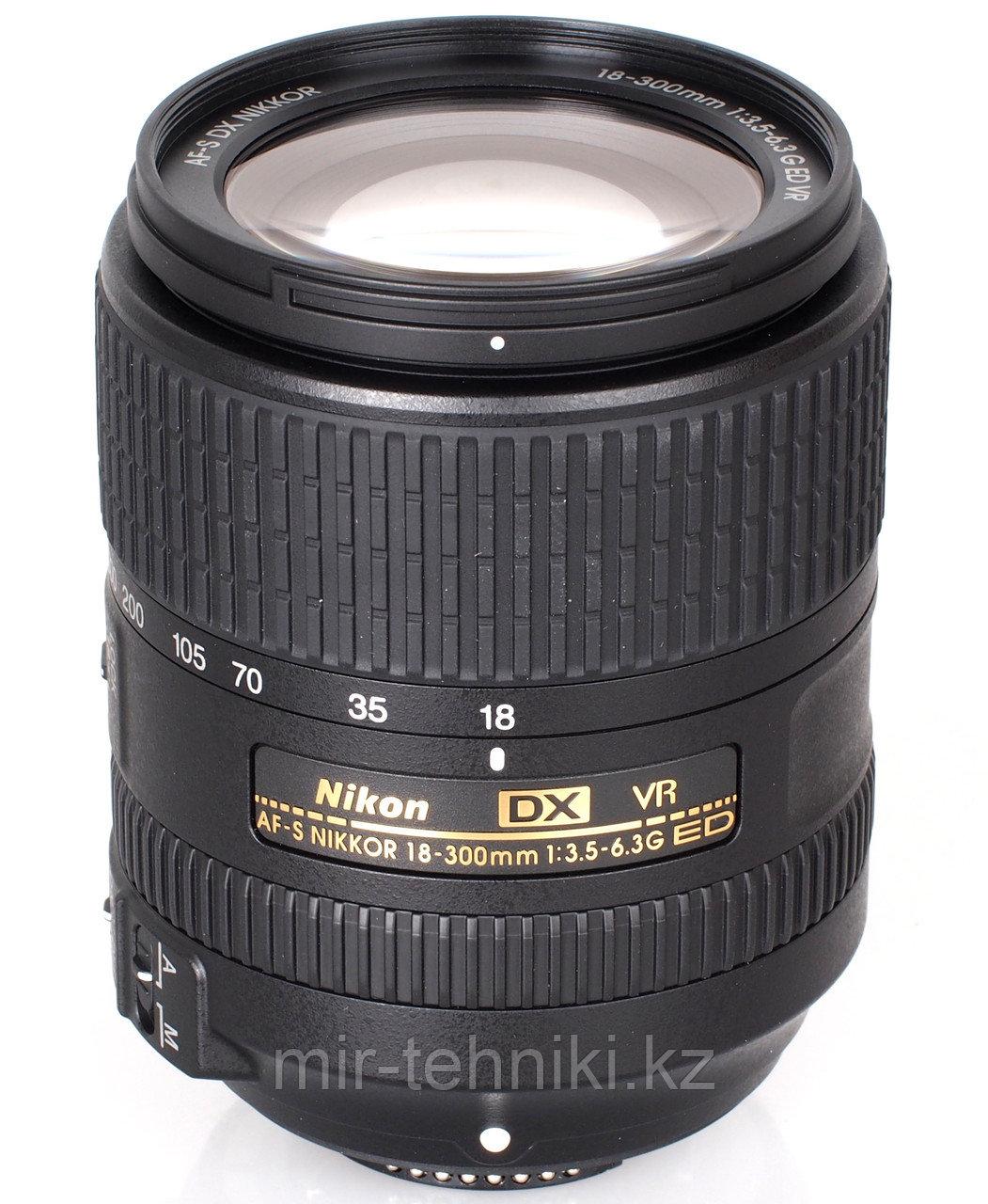 Объектив Nikon Nikkor AF-S 18-300mm f\3,5-6,3 G ED VR