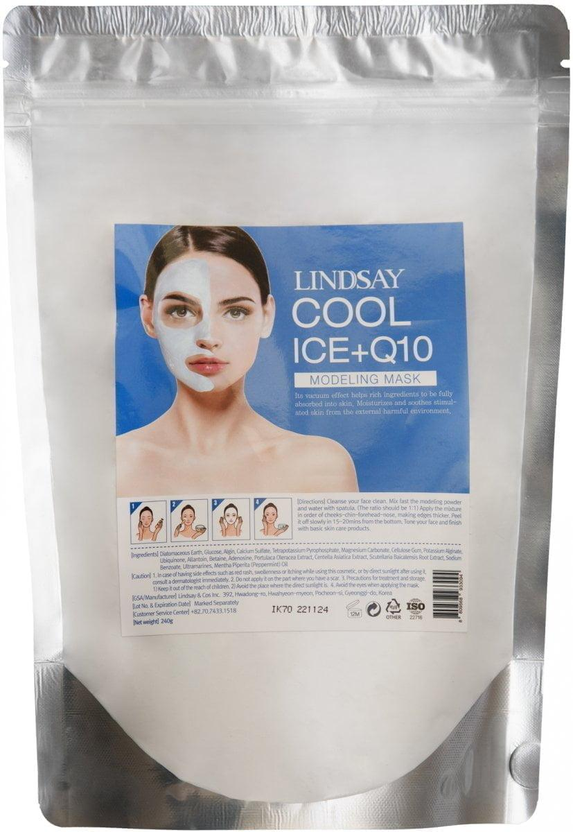 Lindsay Охлаждающая АЛЬГИНАТНАЯ МАСКА с Коэнзимом Cool ICE+Q10 Modeling Mask Cup Pack 240гр.