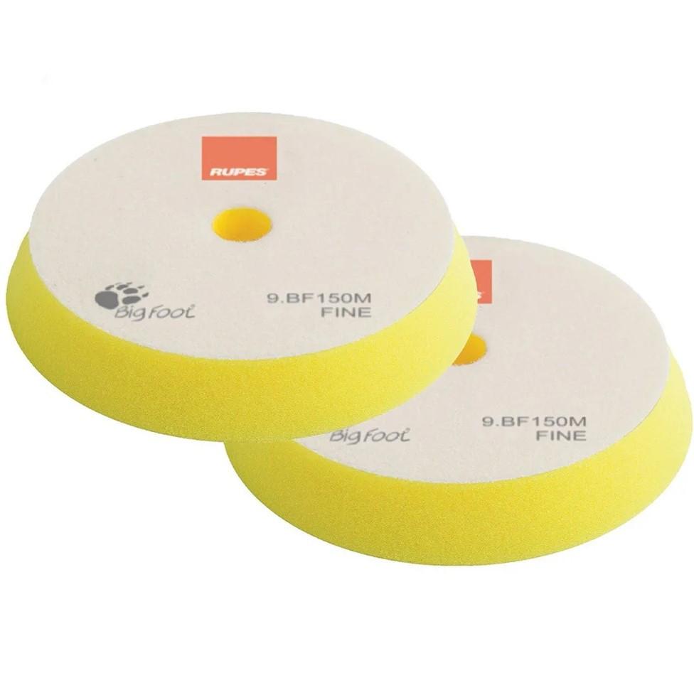 Полировальный круг антиголограммный желтый 130/150 мм Rupes
