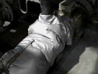 Термочехол на питательный насос котла