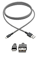 Кабель TrippLite Heavy-Duty USB Sync/Charge Cable with Lightning Connector 6 ft (1,8 м)