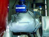 Термочехол на регулятор расхода пара теплообменника