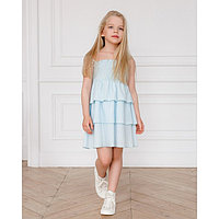 Сарафан для девочки MINAKU, рост 122 см, цвет голубой