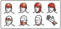 Многофункциональный шарф-бандана 4FUN Scarf Standart