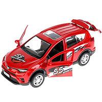 Машина металлическая «Toyota Rav 4. Спорт» 12 см, открываются двери, инерционная