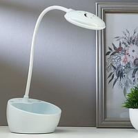 Лампа настольная 16094/1 LED 4Вт 3 режима 3000-6000К+ночник USB МИКС 14х14х11 см