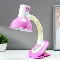 """Светильник на прищепке """"Бабочка"""" 40W E27 розовый 10x14x40 см"""