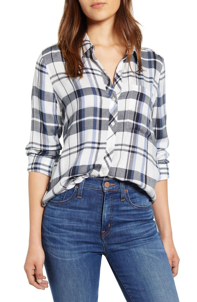Lucky Brand Женская рубашка 2000000389059