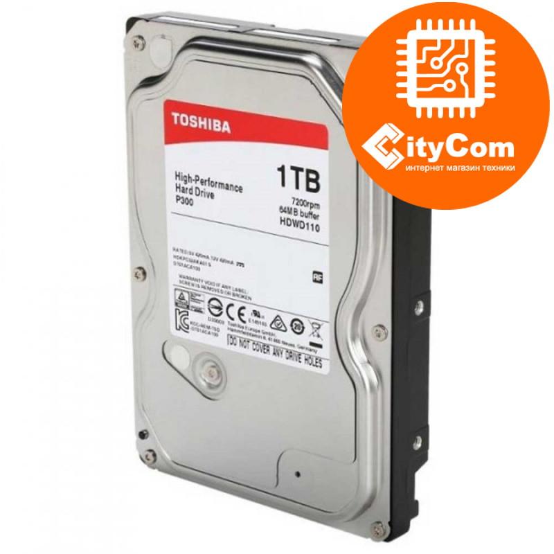 "Жесткий диск 1Tb TOSHIBA  32Mb 3.5"" SATA-III 7200rpm DT01AC"