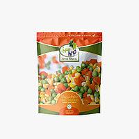 Овощной микс (зеленый горошек, морковь и сладкая кукуруза) 24п * 400г