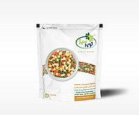 Овощной микс (зеленый горошек, морковь и картофель) 24п * 400г