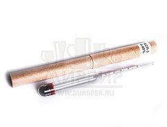 Спиртомер АСП-3 Ареометр профессиональный для спирта ГОСТ 18481-81 РОССИЯ (0-40)