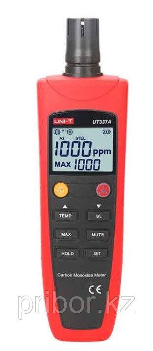 Детектор угарного газа (CO) UNI-T UT337A (0-1000 ppm). Внесён в реестр СИ Казахстана.