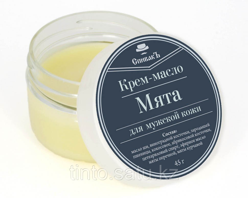 Спивак Крем-масло Мята