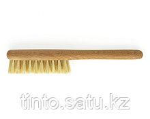 Расческа (тонкая) для волос из натурального бука, щетина кактус Спивакъ
