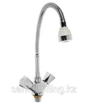 ZERIX LR84309 Смеситель для кухни с гибким изливом (10 шт/ящ)