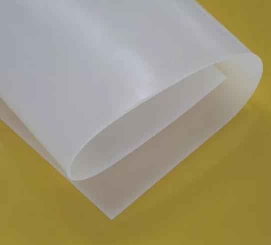 Силикон листовой пищевой 100х100 см, толщина 3 мм, вес 4 кг.