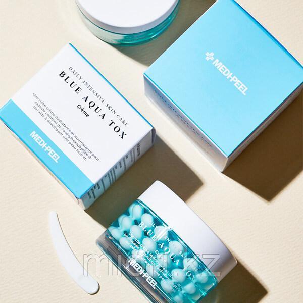 Капсульный крем в шариках для интенсивного увлажнения кожи.Medi Peel Blue Aqua Tox Cream