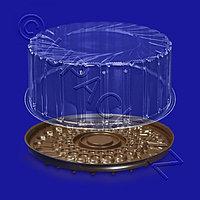 РОССАНПАК Упаковка для торта d23,0х11,3см внутр PET 4000мл