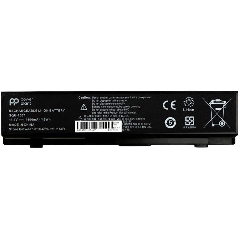 Аккумулятор PowerPlant для ноутбуков LG Aurora ONOTE S430 (SQU-1017) 11.1V 4400mAh