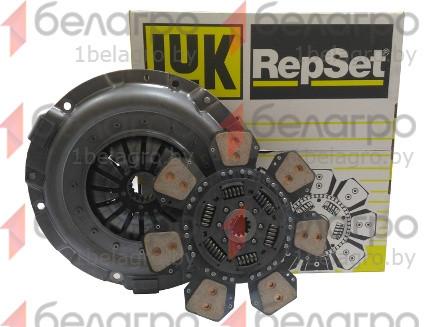 633308709 Комплект сцепления МТЗ лепестковая корзина + металлокерамический диск, LUK
