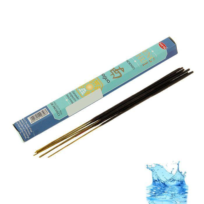 """Благовония """"HEM Feng Shui Water"""" (Фэн Шуй Вода), шестигранник, 20 палочек"""