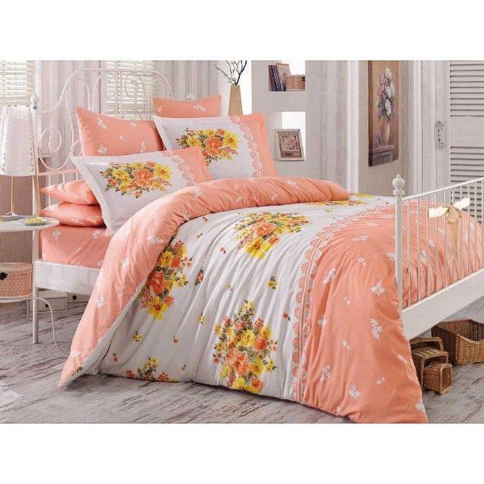 КПБ Alvis 1,5 сп, размер 160х220, 160х240, 50х70, 70х70 по 1 шт, цвет персиковый, поплин