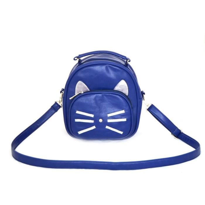Сумка-рюкзак Gatito, кобальт