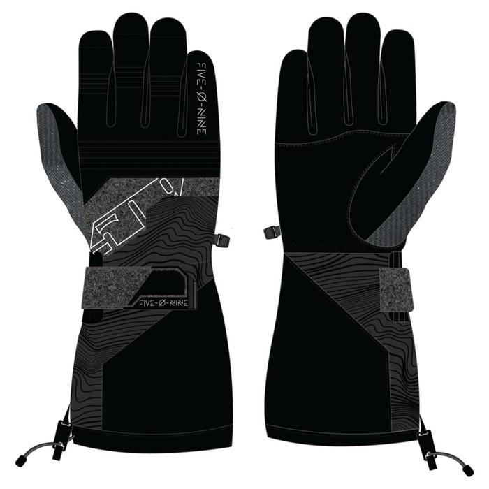 Перчатки 509 Range с утеплителем, серый, чёрный, S