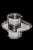 Шибер-задвижка ф 115 0,8 мм (нерж)