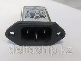 Фильтр питания 10А 220VAC , вход С14