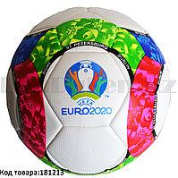 Футбольный мяч Euro2020 АС5998 бело-розовый