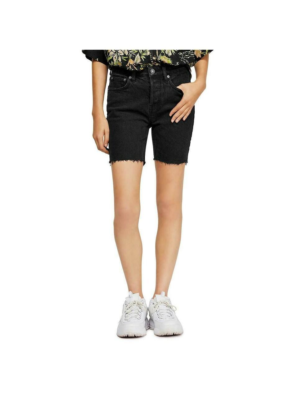 Free People Женские джинсовые шорты