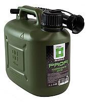 Канистра для ГСМ пластиковая PROFI, 5 л 050101002